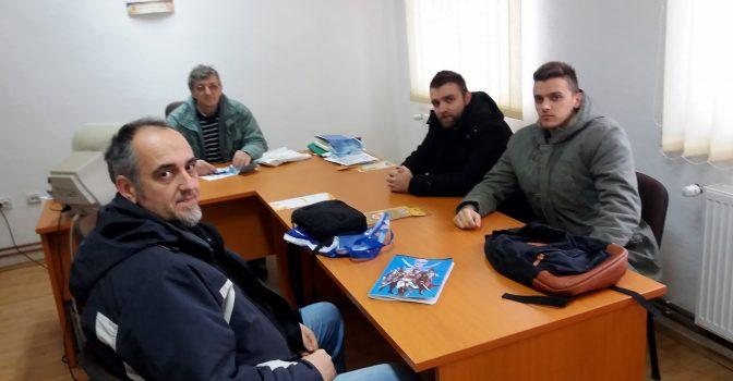 Cursurile pentru pompieri din Zagubica incheiate cu success.