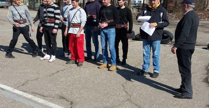 Continuarea cursurilor pentru pompierii din Zagubica