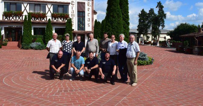 Atelier tematic privind elaborarea studiului de protecție împotriva incendiilor organizat în Orasul Recas, Romania