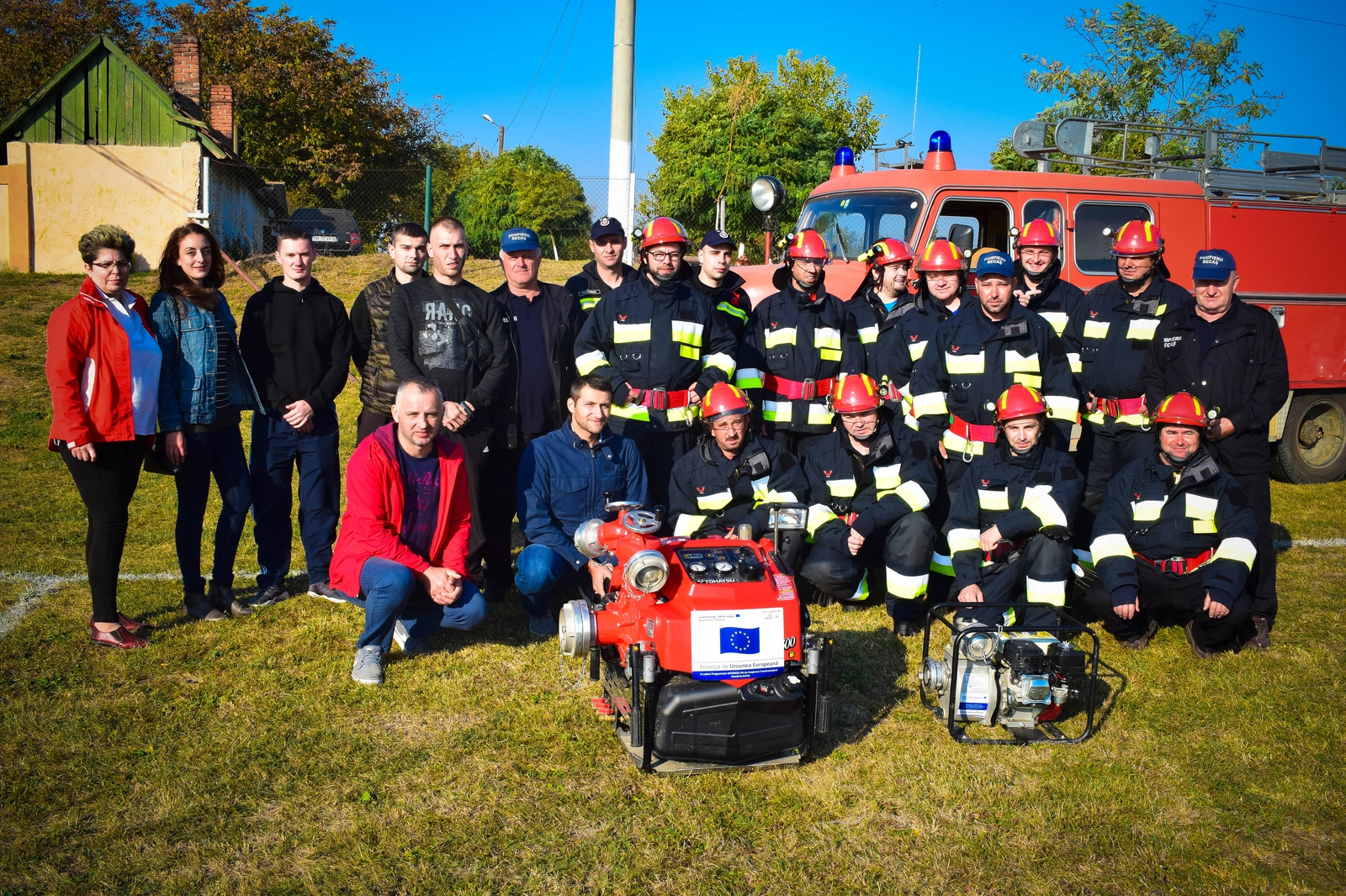 Zajednički trening vatrogasaca iz Rekaša i Žagubice