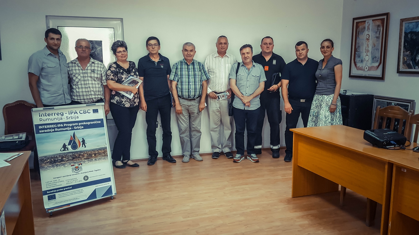 U Žagubici  organizovana tematska radionica na temu izrade studije zaštite od požara